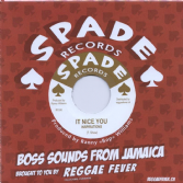 SALE ITEM - Inspirations - It Nice You / Claudius Linton - Brother Moses (Spade / Reggae Fever) 7""